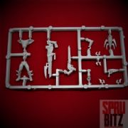 Dark Eldar Warrior Sprue from Warhammer 40,000 3rd Edition (D)